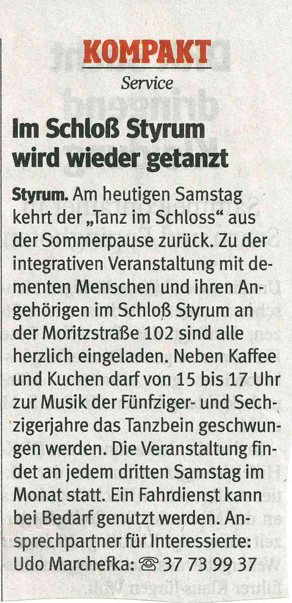 Schloss Styrum Cafe
